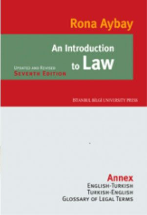 9786053990758  An Introduction to Law